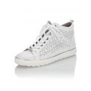 Caprice Sneaker mit LaserCut weiß female 36