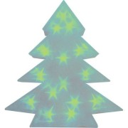 Светодиодная фигура Feron LT028 зеленый ёлка большая 3D(26798)