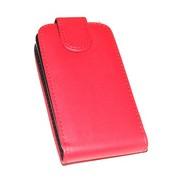 Калъф тип тефтер за Smsung S5300 Galaxy Pocket Червен