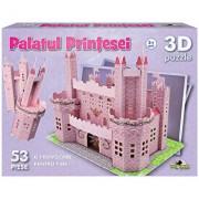 Puzzle 3D Palatul printesei, 53 piese