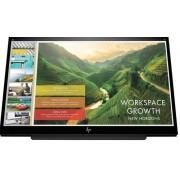 "HP EliteDisplay S14 - LED-monitor - 14"" - portable - 1920 x 1080 Full HD (1080p) - IPS - 200 cd/m²"