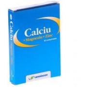 Calciu + magneziu + zinc 20cpr AMNIOCEN