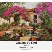 Gradina cu flori (kit goblen)