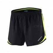 ARSUXEO Sport Marathon Running Pantalones cortos para hombre - Verde (XL)