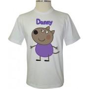 Camiseta Peppa Pig Danny o Cão - Coleção Peppa Pig