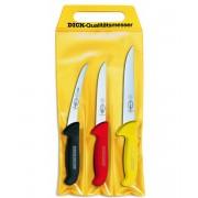 F. Dick - Sada nožů 3 ks ve třech barvách