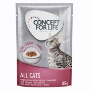 Concept for Life All Cats - in salsa - 48 x 85 g