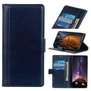 Bolsa Tipo Carteira Premium para Samsung Galaxy A30, Galaxy A20 - Azul Escuro