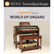 Wersi World of Organs (4003020) Soundpackage for OAS