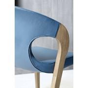 Chaise design en chêne Organo