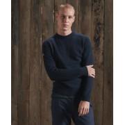 Superdry Harlo Pullover mit Rundhalsausschnitt M marineblau