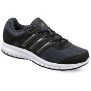 Adidas MensBlack Lace-up Running Shoes