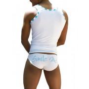 Icker Sea Smile Me Slip Bikini Underwear White COI-13-16