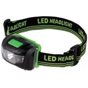 Lanterna Frontala LED Hama 136233 (Negru/Verde)