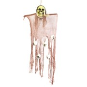 Halloween Party House Decoration Hanging Skeleton Ghosts Horrid Scare Scene Toys Props
