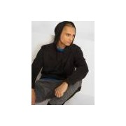 Urban Classics / Hoody Basic in zwart - Heren - Zwart - Grootte: Large