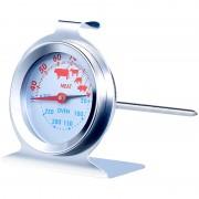Rosenstein & Söhne 3in1 XL Braten- und Ofen-Thermometer für Gar- & Backofentemperatur