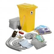 Leckage-Notfallset in Kunststoff-Tonne Ausführung universal