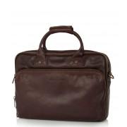 Castelijn & Beerens Handtas Firenze Laptop Bag 15.6 inch Bruin