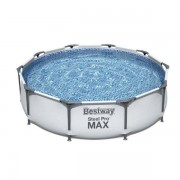 Bestway Familjepool - Steel Pro Max pool 4.678L 305x305x75 cm - Bestway barn & familjepool 56408