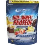 ironMaxx 100% Whey Protein Sacchetto da 500g - Banana/Jogurt