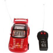 Planet of Toys Remote Control Racing Car With Opening Doors And Lights For Kids Children