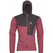 High Point Helium Pertex Jacket - bunda Barva: brick red/black, Velikost: XL