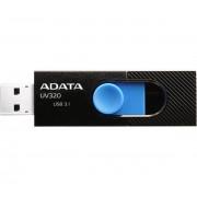 Adata UV320 64GB USB 3.1 pendrive, fekete és kék
