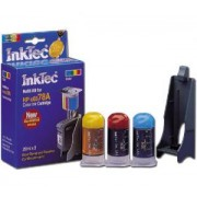 Мастило HP C6578A/D, C1823, C6625A, C51641 color (HPI-0002C) - INKTEC-HP-0002