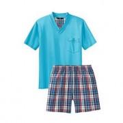 Favourite Pyjamas No. 26, 40 - Turquoise/Multicolour