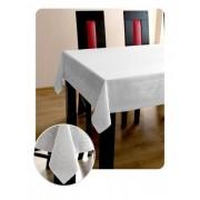 KEREK asztalterítő, abrosz csigás mintás 140 cm átmérő (252)