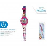 Disney orologio digitale frozen per bambina in plastica new sport wd17954