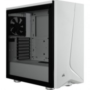 Кутия Corsair Carbide SPEC-06 RGB Tempered Glass Case White