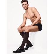 Cotton Velvet Knee-Socks - 4737 - 4344
