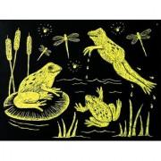 Melissa & Doug Scratch-Art Paper Yellow