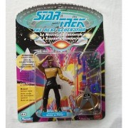 4 Lieutenant Commander Geordi La Forge Action Figure - 1992 Series 1 Star Trek: The Next Generation