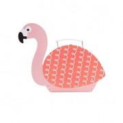Sass & Belle Resväska Flamingo
