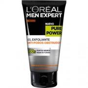 Men Expert gel exfoliante pure power, 150 ml