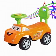 GoodLuck Baybee Ride on Push Car for Baby Boys and Baby Girls (1-2 Years, Orange)
