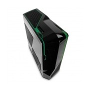 Gabinete NZXT Phantom, Full-Tower, ATX/EATX/micro-ATX, USB 2.0, sin Fuente, Negro/Verde