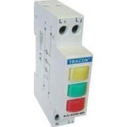 Lampă de semnalizare modulară cu LED, galben, verde, roşu - 3x230V AC SLJL-AC230-SZP - Tracon