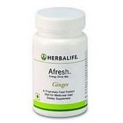 Herbalife Afresh Energy Drink Mix 0.050 Kg Ginger