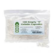 "CLEAR EMPTY GELATIN CAPSULES (Size ""0"")"