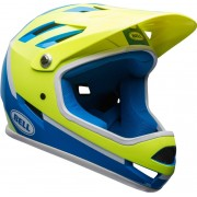 Bell Sanction Downhill Casco Verde Azul S