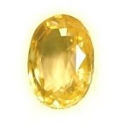 Jaipur Gemstone 6 -Ratti IGL&I Yellow Yellow Sapphire (Pukhraj) Precious Gemstone