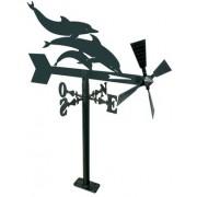 Veleta Jardin de hierro Delfines 480 mm.