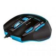Мишка AULA Killing The Soul Expert SI-928, гейминг, оптична (800-2000dpi), бързи бутони, USB, черна