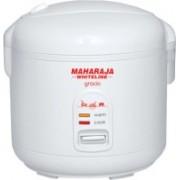 Maharaja Whiteline Gracio RC - 104 Electric Rice Cooker(1.8 L, White)