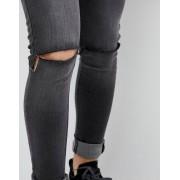 Criminal Damage Рваные джинсы скинни Criminal Damage - Синий
