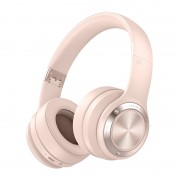 PICUN B21 Over-ear Wireless Bluetooth 5.0 Stereo Headphone Headset with Built-in Microphone - Pink